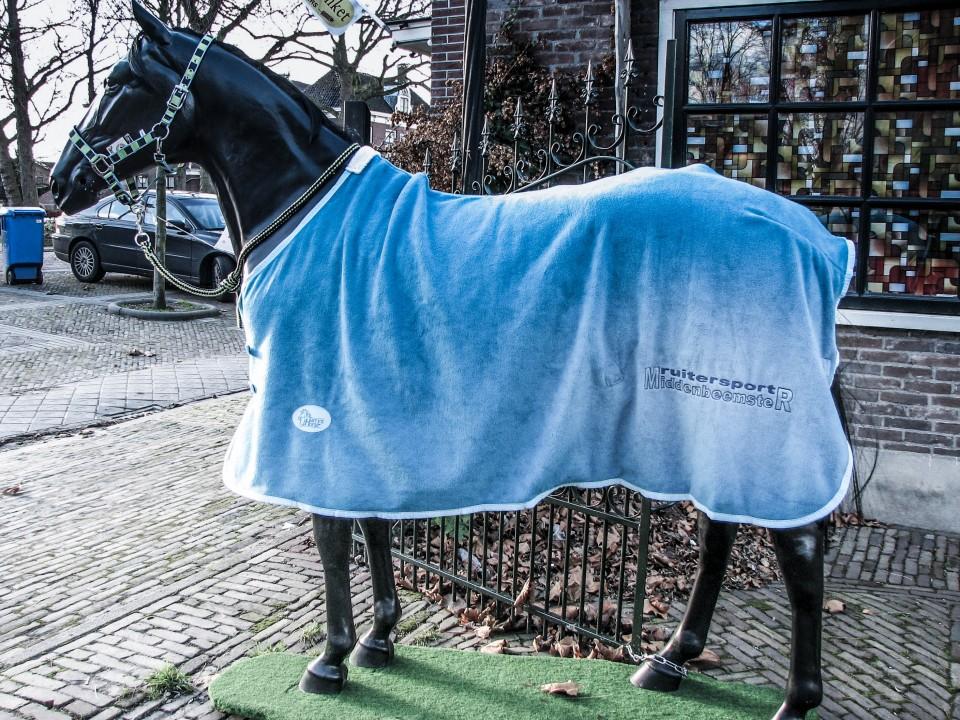 paardendeken borduursel