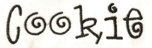 Lettertype: Cookie