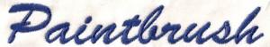 Lettertype: Paintbrush