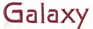 Lettertype: Galaxy