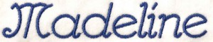 Lettertype: Madeline