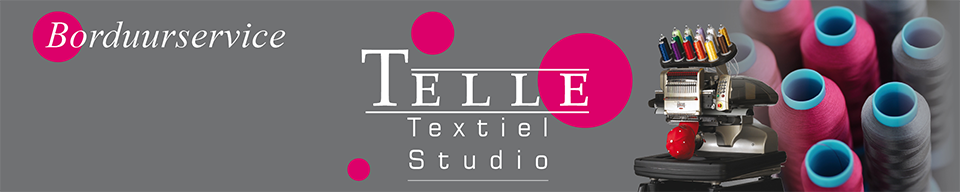 Logo's en badges op kleding borduren | Telle Textiel